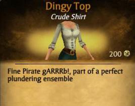 Dingy Top