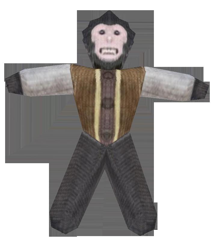 Baboon Doll