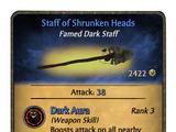 Staff of Shrunken Heads