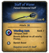 Staff of Water