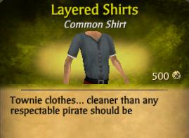 Closed Short Sleeve Shirt