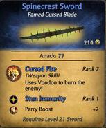 Spinecrest Sword