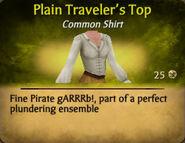 Plain Travelers Top