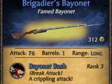 Brigadier's Bayonet