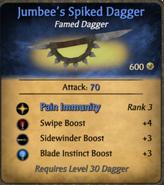 Jumbee's Spiked Dagger