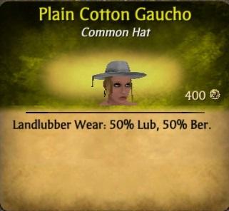 Cotton Gaucho