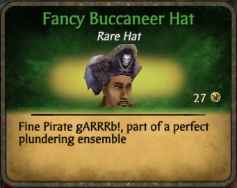 Fancy Buccaneer Hat