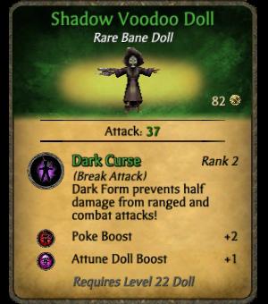 Shadow Voodoo Doll