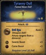 Tyranny Doll