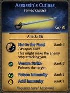 Assassin's Cutlass