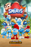 The Smurfs (2021) Official Poster 1