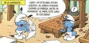 PitufoGolosoTrabajandoEnLaPrensa