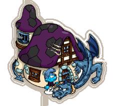 Dragon Ridder Smurf's Hut.png