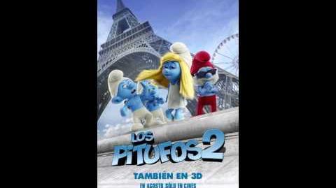 Los Pitufos 2 poster animado