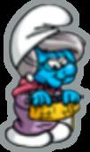 Smurfs nanny