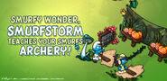 Smurfstorm in Smurfy Wonder!