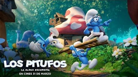 LOS PITUFOS LA ALDEA ESCONDIDA. Tráiler Oficial en español HD. En cines 31 de marzo.