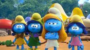 Smurfette, Smurfstorm, Smurflily and Smurfblossom 2021 TV Series