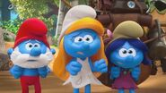 Papa Smurf, Smurfette and Smurfblossom TV Series