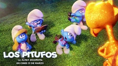 LOS PITUFOS LA ALDEA ESCONDIDA. Un mundo completamente nuevo. En cines 31 de marzo.