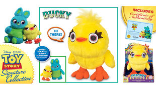 Ducky Deluxe Talking Carnival Plush (Toy Story Collection)