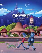 Onward Present Poster