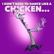 Fear-chicken
