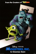 Monsters Inc - Final Poster 2