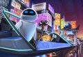 Wall-E&EVE AXIOM