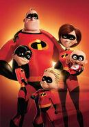 The Incredibles - Superhero Family Poster