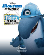 Monsters at Work Character Posters 05