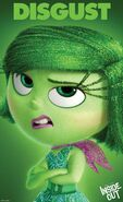 Inside Out Character Poster Disgust