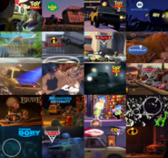 Pixar Compilation Pizza Planet Truck