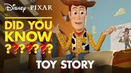 Toy Story Secrets & Easter Eggs Pixar Did You Know? by Disney•Pixar