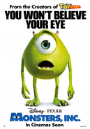 Monsters Inc - Mike Poster