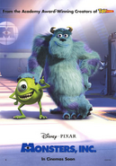 Monsters Inc - Final Poster