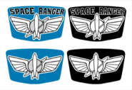 Space ranger decals