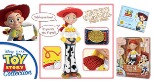 Jessie the Yodeling Cowgirl (Toy Story Collection)