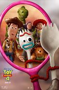 Toy Story 4 Mirror Poster