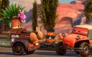 Pixar Post - Radiator Springs 500 and a Half Rim Shot Pitty