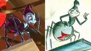 A Bug's Life Side by Side Pixar
