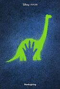 The Good Dinosaur Official Poster
