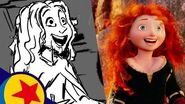 Chase the Sky from Brave Pixar Side by Side