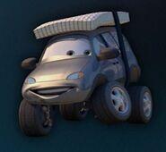 Cars-leroy-traffik-with-snow-tires