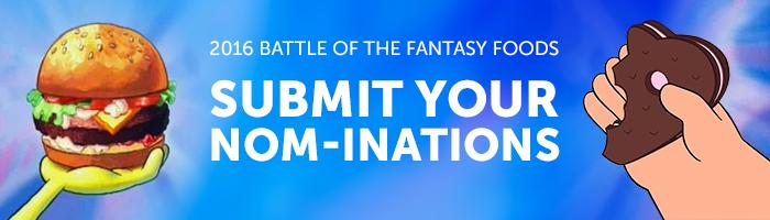 Knakveey/Nominate Your Community - Fantasy Food