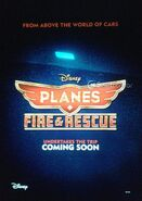 Planes Fire & Rescue Teaser Poster Cine 1