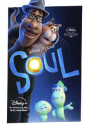Soul French Poster