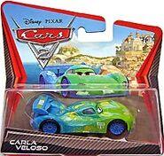 Carla veloso cars 2 short card