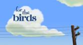 עבור הציפורים (קטע קצר)