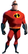 Red Mr. Incredible